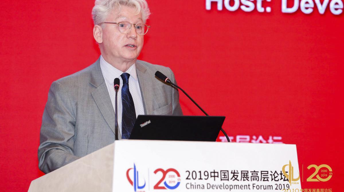 导演柯文思应邀参加中国发展高层论坛2019年会并发言