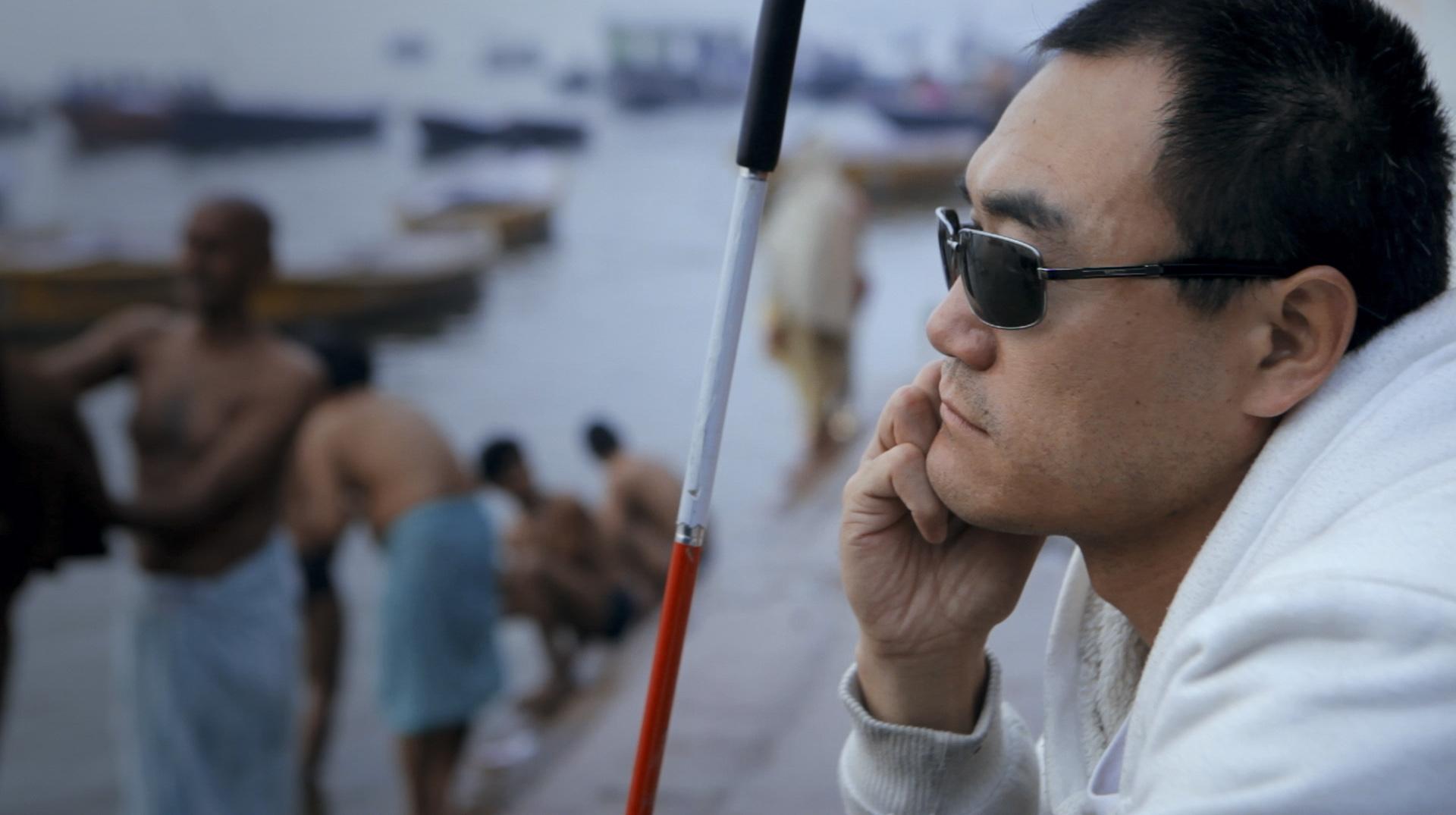 深焦专访《盲行者》导演韩轶 |他看不见这个世界,却执意让世界看见他